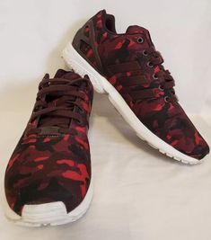 check out 8582e f888d Adidas Torsion Men s Zx Flux Red Camouflage Size 12  fashion  clothing   shoes  accessories  mensshoes  athleticshoes (ebay link)