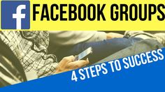 4 Tips for a Successful Facebook Group, Social Media Marketing, How to S... Sustainable Companies, Steps To Success, Start Up Business, Online Courses, Social Media Marketing, Personal Care, Group, Facebook, Tips