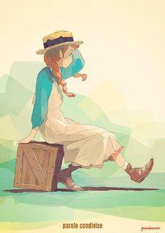 Pomodorosa, Anne of Green Gables art Art And Illustration, Illustrations, Character Illustration, Character Concept, Character Art, Concept Art, Character Design, Manga Art, Anime Art