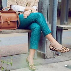 how to style leopard flats