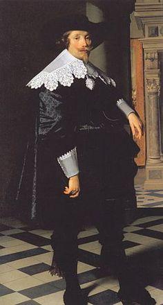 Cornelis de Graeff in 1636 by Nicolaes Eliaszoon Pickenoy (Dutch,1588-1656) ~ Gemäldegalerie Berlin