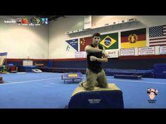 Beginners Gymnastics Tutorial Tip- Shoulders to Ears Basics