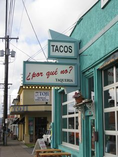 This is right by my new house! ¿Por Qué No?- great place for margaritas and Mexican food! #Portland