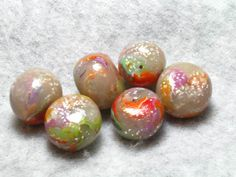Candy\'s Faux Glass Rainbow Beads. Starting at $6