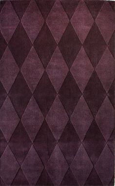Contemporary Wool Handmade Diamonds 5x8 $108