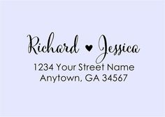 Personalized Self Inking Address Stamp - Return address stamp R266