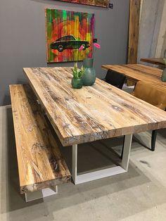 Esstische aus Massivholz nach Maß von Holzwerk-Hamburg. Wir fertigen Ihren individuellen Tisch. Sie haben die freie Wahl bei Gestell und Holzart.