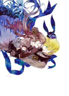 Alice & Oz Vessalius,Oz the B-Rabbit - Pandora Hearts,Anime Otaku Anime, Manga Anime, Manga Art, Vanitas, Pandora Hearts Oz, Oz Vessalius, Couple Manga, Fairy Tail, Cute Anime Couples