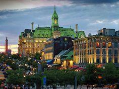 Entre as cidades mais importantes estão: Montreal (3,7 milhões de habitantes), Cidade do Québec (675 mil habitantes), Longueuil (389 mil habitantes), Laval (364 mil habitantes) e Sherbrooke (190 mil habitantes) (Credito: ©Tourisme Montréal, Stéphan Poulin)