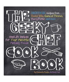 Look at this Race Point Publishing The Geeky Chef Cookbook on #zulily today!