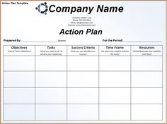 Get Corrective Action Plan Template Excel  Microsoft Excel