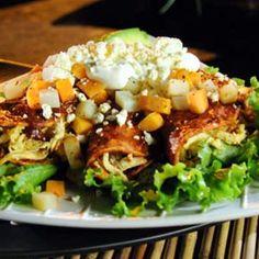 ::AL SABOR DEL CHEF:: Recetas, consejos y más para la cocina.Enchiladas Queretanas