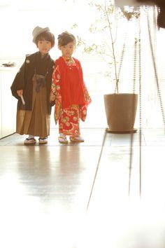 Photo Styling 75c / ebisu no.19 / アンティーク着物 / モード / 七五三 / vintage KIMONO / Japan /