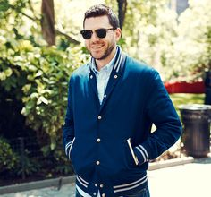 Buyer's Picks: Andrew Powell -   Andrew Powell is all about casual cool, and this sale — the latest in our monthly buyer's picks series — highlights his love for all-American classics including varsity, bomber, and denim jackets, plus suiting and accessories from top brands like Gant Rugger, Levi's, G-Star, and ...  #Blouse, #Boot, #Dress, #Hardcover, #Headband, #Jean, #Shirt, #Stroller, #Tie