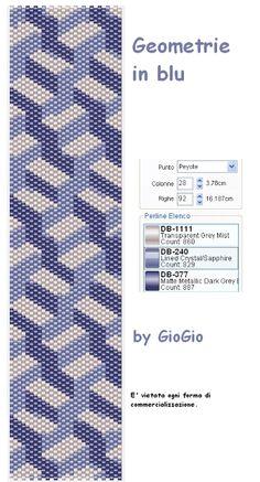 GioGio: Geometrie in blu