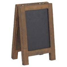 Desktop Chalk and Cork Easel - Threshold