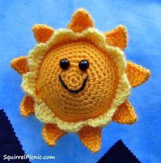 Cuddly Sun Crochet Pattern