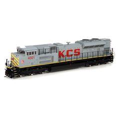 HO SD70ACe, KCS #4001 (ATHG68555): Athearn Trains