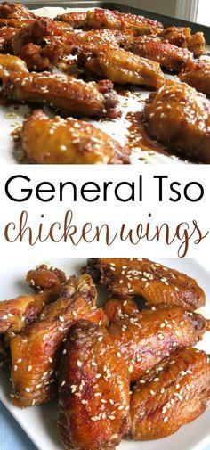 General Tso's Chicken Wings Recipe.