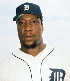 Gates Brown, Tigers' Clutch Pinch-Hitter, Is Dead at 74 Pro Baseball, Baseball Players, Baseball Cards, Detriot Tigers, America's Favorite Pastime, Detroit Sports, World Series, New York Yankees, Hot Dogs
