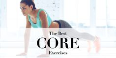 Top 10 exercises to challenge, tighten and strengthen your core! Your core includes several muscle groups that are located on your stomach, back and butt. These muscles work as a team to support your pelvis and spine, keep your back safe and improve your posture. Aside from the obvious aesthetic benefits, having a strong, tight core also enables you to perform exercises with better form and helps you work all other muscle groups more effectively. If you want to challenge your core and…