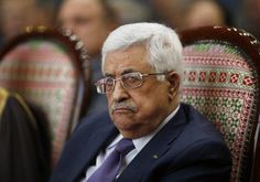 Palestinian Authority President Mahmoud Abbas attends a ceremony in Ramallah Photo By: REUTERS