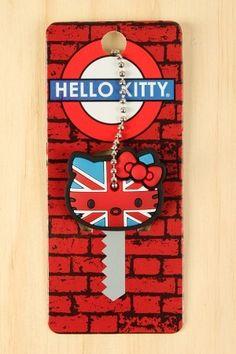 Hello Kitty Britain Key Cap