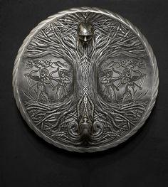 Jav,Nav,Prav  Tree of the world  Perun and Veles by Kriegerman