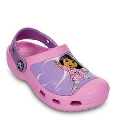 This Carnation Creative Crocs Dora™ Ballet Clog by Crocs is perfect! #zulilyfinds