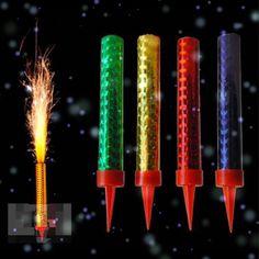 6 Velas Mágicas Para Pastel Cumpleaños Chispas Luz Bengala - $ 59.99 en…