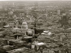 London from above - view from the shard