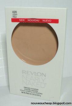 New Revlon Nearly Naked Makeup Pressed Powder. Best drugstore powder I've tried.