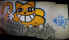 M. chat, Streetart, Urbacolors