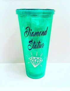 A personal favorite from my Etsy shop https://www.etsy.com/listing/451688492/itworks-it-works-tumbler-diamond-status