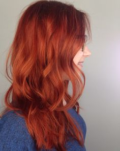 Copper Red Hair. Color Specialist San Diego. Andie Jones Hair. Raven & Sage Collective