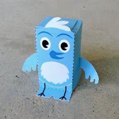 Twitter Bird Printable 3D Toy