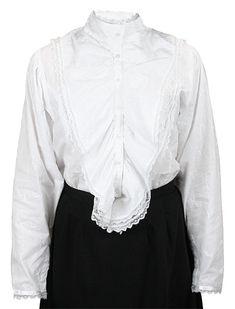 75 best fashion 19c later victorian images victorian victorian German Dirndl Patterns lingerie lace blouse white white lace blouse white dress white