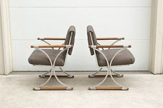 Set of Vintage Mid Century Menswear by HomesteadSeattle on Etsy, $795.00 lounge chairs