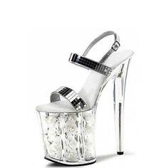 sandálias plataforma sapatos de salto stiletto sapatos femininos – BRL R$ 222,27