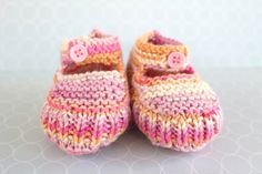 Colourful Booties Pink Mary Janes Baby Sandals Baby by Pinknitting Baby Girl Shoes, Girls Shoes, Baby Sandals, Crib Shoes, Mary Janes, Knitwear, Booty, Trending Outfits, Spring