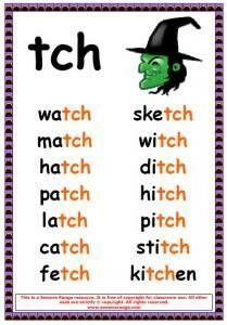 tch phonics