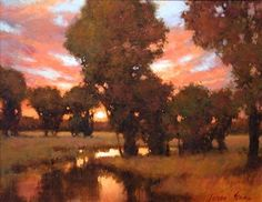 MontanaMeadows by Teresa Saia Oil ~ 16 x 20