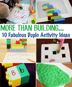 More Than Building: 10 Fabulous Duplo Block Activity Ideas from Childhood 101