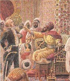 Le coup d'éventail en 1827 , qui a valut 3 millions de de morts Algeriens puisse Allah Leur Faire Miséricorde