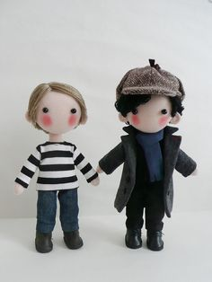 Reserved for Letts Sherlock  Dolls by pepeluiv on Etsy