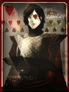 Anime take on the Knave of Hearts - wonderful.
