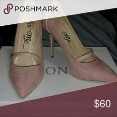 Beautiful and Elegant Blush Heels Bnwob So Me  Shoes Heels