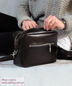 Szycie torebki krok po kroku - tutorial - blog Janome, Kate Spade, Diy Bags, Backpacks, Purses, Sewing, Blog, Fashion, Handbags