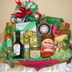 Cucina D Italiano Gift Basket Tray - What a lovely gift to receive whatever the occasion. Several pasta's and spaghetti, along with Bruscetta tomato topping, Olive paste, a large bottle of Nicoise Olives, Virgin Olive Oil, Italian Balsalmic Vinegar, Foccacia crisps, Merlot wine cheese, 2 delicious Biscotti, McStevens... - http://giftbasketblessings.com/product/cucina-d-italiano-gift-basket-tray/