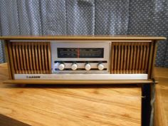Vintage 1970s ARO Arrow AM/FM Table Top Stereo by KazmyrsKollectibles on Etsy